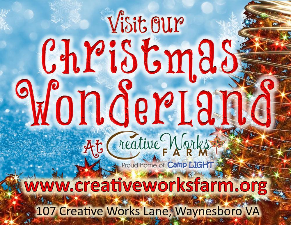 Christmas Wonderland at Creative Works Farm
