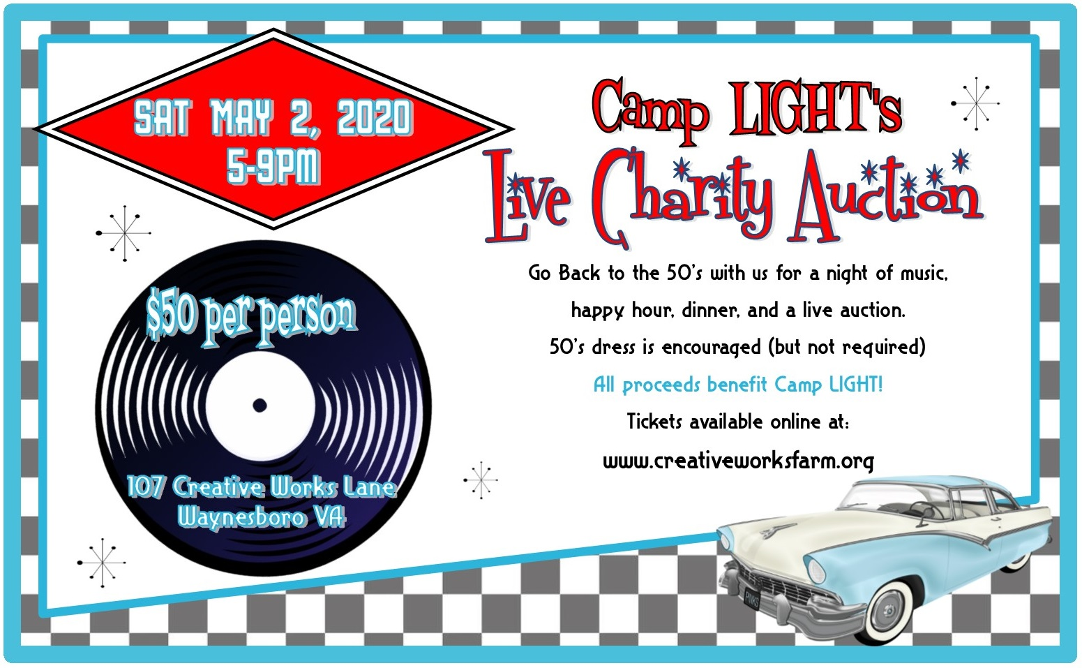 Camp LIGHT Live Charity Auction 2020